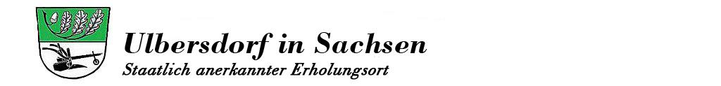 Ulbersdorf ist ein staatlich anerkannter Erholungsort direkt am Nationalpark Sächsische Schweiz